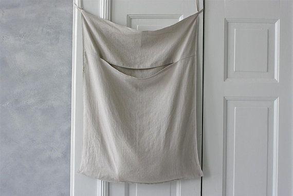 Hanging Linen Laundry Bag Large Laundry Bag Large Laundry Hamper