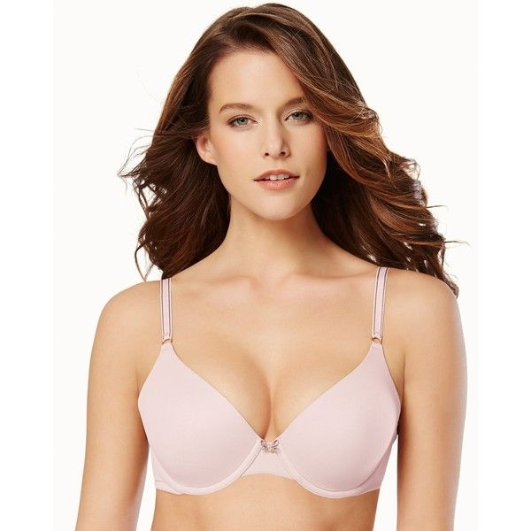 Soma Embraceable Demi Bra ($20) ❤ liked on Polyvore featuring intimates, bras, bra, pink romance, underwear & socks, racerback underwire bra, demi underwire bra, full coverage padded bra, underwire bras and soma bras