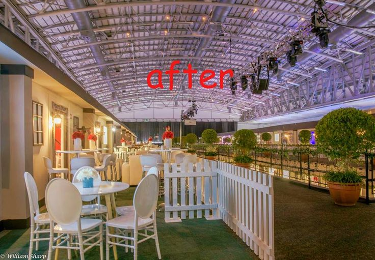 Amazing things happen when a team of dedicated event professionals get together! Party Design Cape #beforeandafter #eventdesign #eventdecor #eventmanagement #capetown
