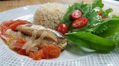 Escabeche de sardinha na panela de pressão | Peixes e frutos do mar | É de casa - Receitas Gshow