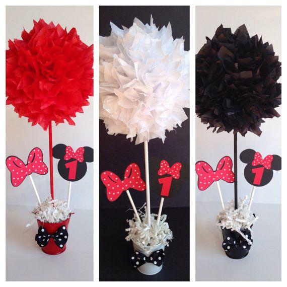 Minnie Mouse cumpleaños fiesta decoración luz por AlishaKayDesigns