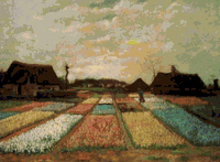 Поля тюльпанов (Ван Гог), предпросмотр