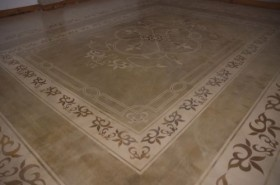 Create Patterns on Cement with Stencils from Cemcrete