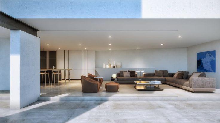 #terrace #interior #living #cedro #creato
