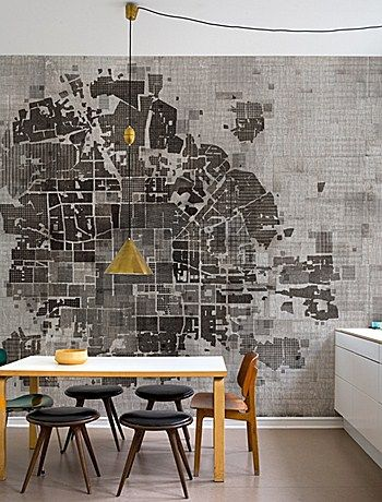 DETAILS ORIENTED by shape+space M. The wall map
