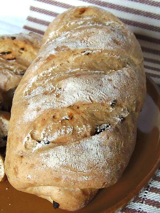 Ricetta Pane alle tre farine con peperoni secchi