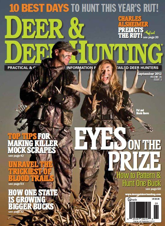 Bow Hunting Deer & Deer Hunting Issue. The cover makes me laugh.. totally could be my husband and I last season.. LOL ha ha