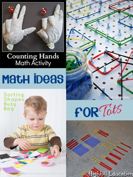 DIY Resources for Math fun with kids - simple easy to make at home