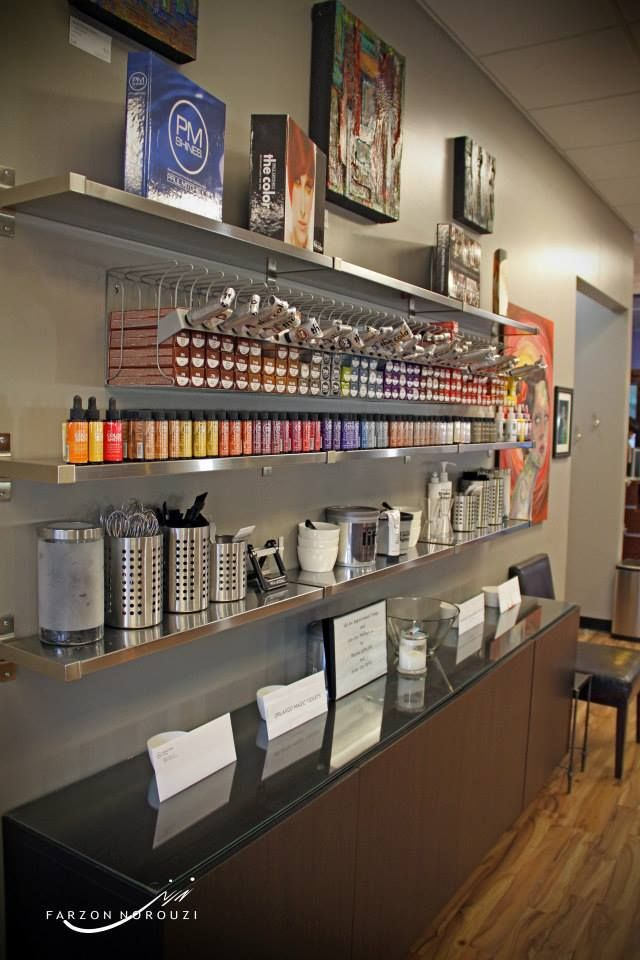 Welcome to the Elle Vie Salon Color Bar!                                                                                                                                                                                 More