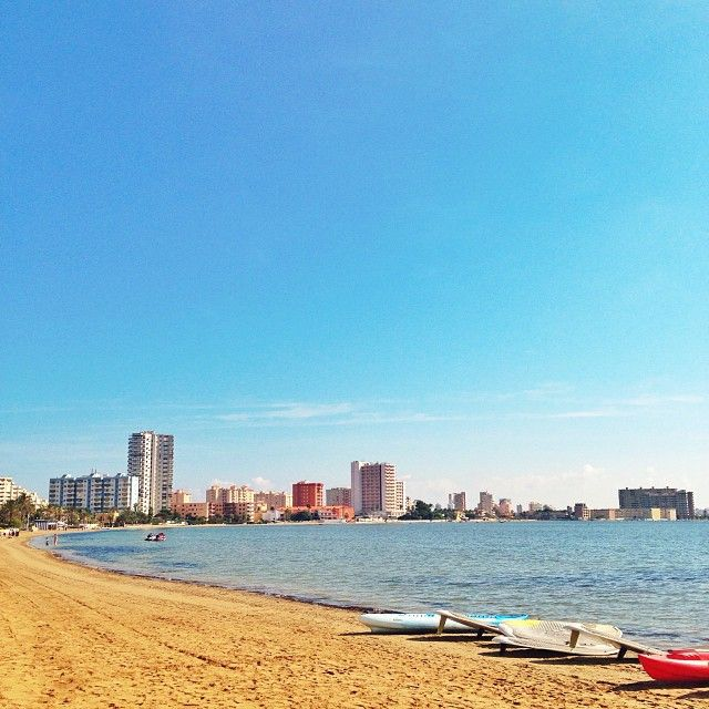 La manga del mar menor - I had my childhood holidays here, so relaxing and lovely...