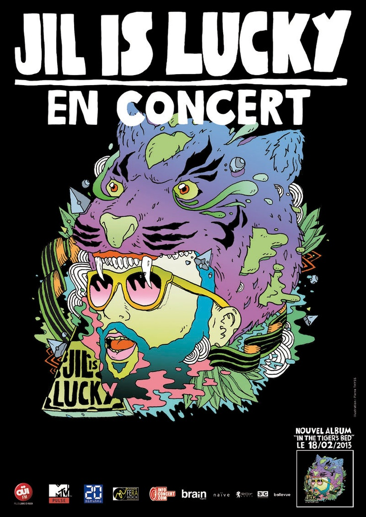 Jil Is Lucky Tour Poster