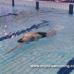 Backstroke Swimming Drills – Head-Lead Side Balance