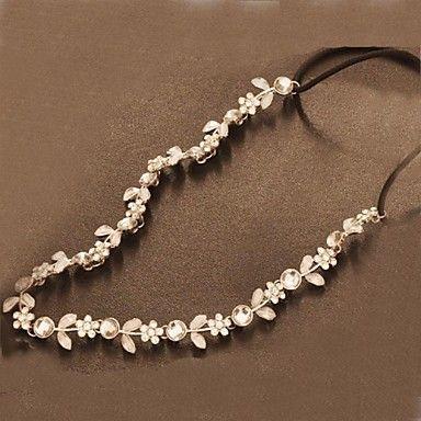 kristal strass populaire bloemen bruids hoofdbanden 2015 – €4.74