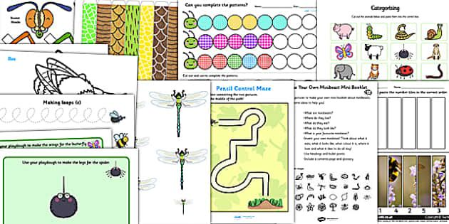 Minibeasts Primary Resources, minibeast, bugs, growth, life