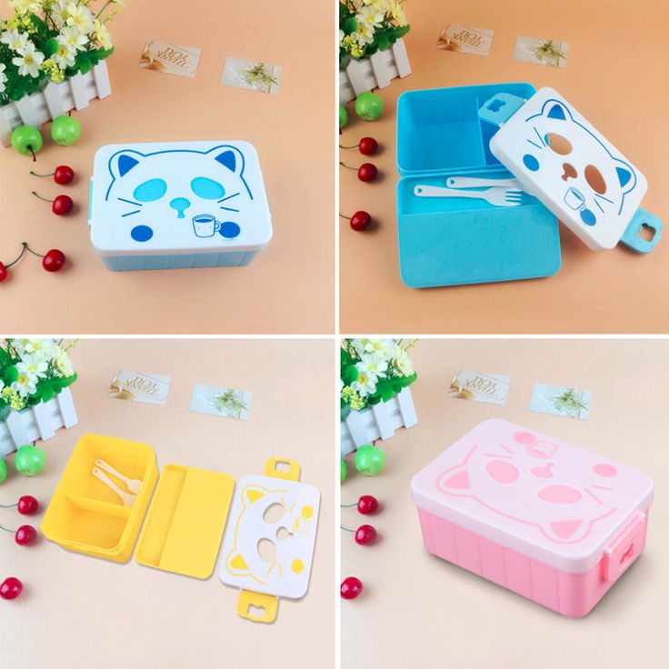 1000ml Double Layer Food Container Microwave Oven Bento Boxes Food Storage Lunchbox Large Capacity High Quality-in Dinnerware Sets from Home & Garden on Aliexpress.com | Alibaba Group