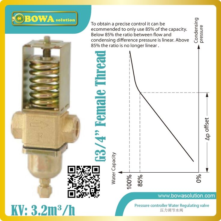 116.60$  Buy here - http://ai8oh.worlditems.win/all/product.php?id=1956343017 - Pressure controlled water valve are installed in water pipeline of  water cooled condenser of cryogenic equipments or freezer