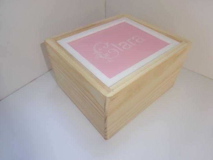 CI wooden box.