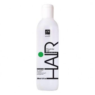 Shampoo per capelli fini e privi di volume-     Collezione: Hair Care     Capacità: 200ml  Gli ingredienti accuratamente selezionati rendono i capelli corposi, aumentandone il loro volume. Facilita la pettinatura dei capelli bagnati, elimina l'effetto crespo e mantiene inalterata l'idratazione.  Lascia sui capelli un piacevole aroma floreale.