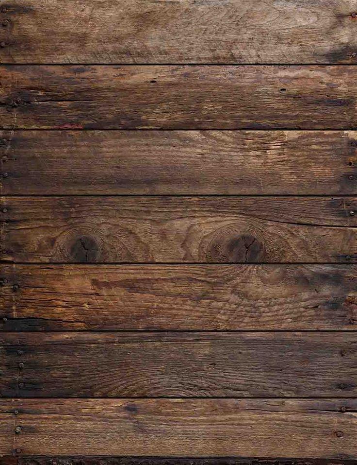 Dark Brown Wood Floor Texture For Baby Photo Backdrop