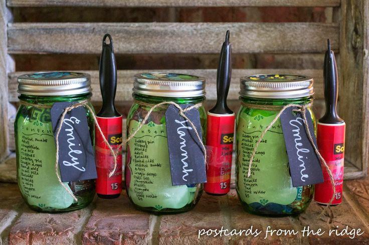 Mason Jar College Survival Kit   Giveaway!