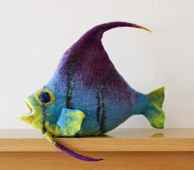 Gone Felting: felted fish