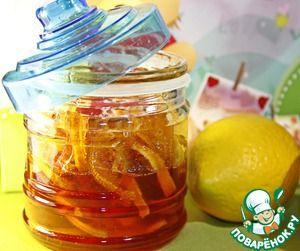 Лимонно-имбирный конфитюр