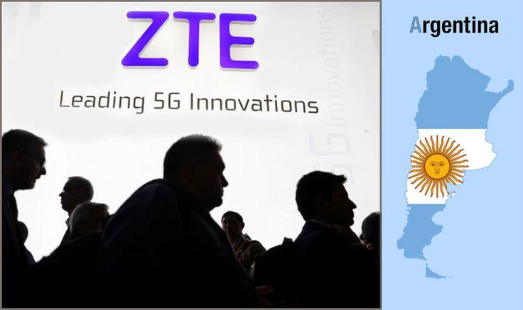 ZTE to provide surveillance tech to Argentina Cyber