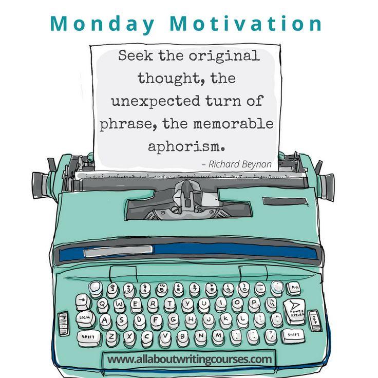 Monday Motivation: Ambushed by a striking apophthegm