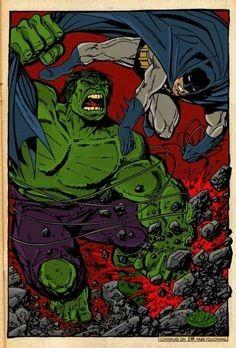 37 best batman arkham origins images on pinterest batman arkham hulk vs batman by john byrne fandeluxe Gallery