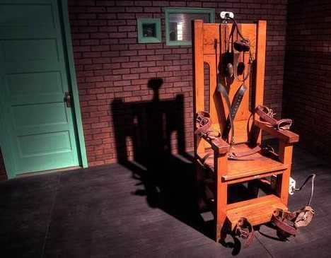 electric chair.  A cool conversation piece