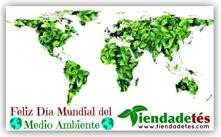 ¡¡Feliz #DiaMundialdelMedioAmbiente !!  ¡¡Entra en http://www.tiendadetes.com  y prueba el mejor #Té!! #SanViernes