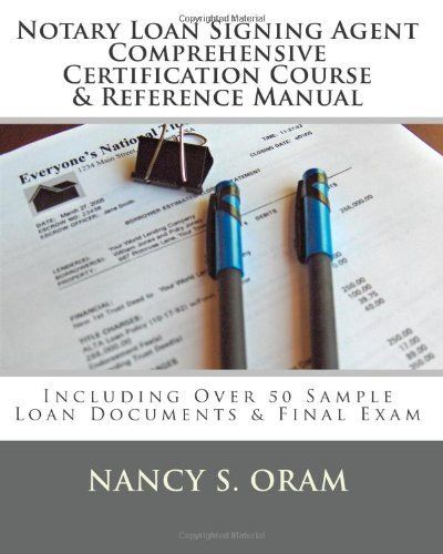 16 best notary public images on pinterest public business ideas notary loan signing agent comprehensive certification course reference manual including over 50 sample ccuart Image collections