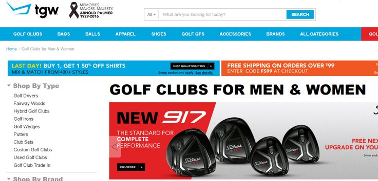 TGW – The Golf Warehousetgw http://golfgearforseniors.com/online-golf-sales TGW specialises in online golf sales. They  can supply and deliver a range of golf equipment and golf accessories to international online customers and I can highly recommend their products and  services.