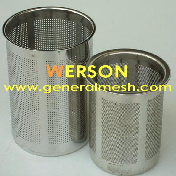 Generalmesh Rimed Wire Mesh Strainer Filter Rubber Filter Washer