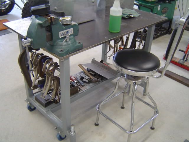 tig welding table to store my weld set up