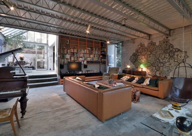 A High-Tech home in Hampstead, north London is on the market for the first time since it was converted by renowned architects Norman Foster and Michael and Patty Hopkins in 1969.