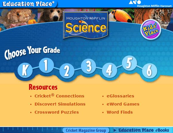Science Please note that these pages contain a collection of links to activities to support and enhance classroom teaching and learning. The thumbnails and activities are the property of the authors/creators...