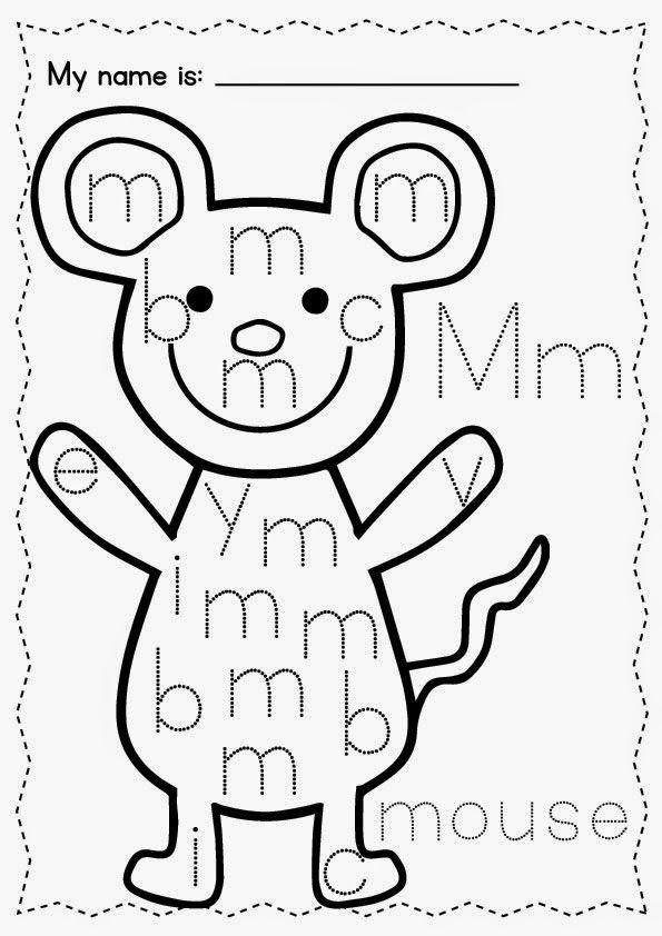 alphabet find it trace it worksheets a freebie ela kindergarten preschool literacy. Black Bedroom Furniture Sets. Home Design Ideas