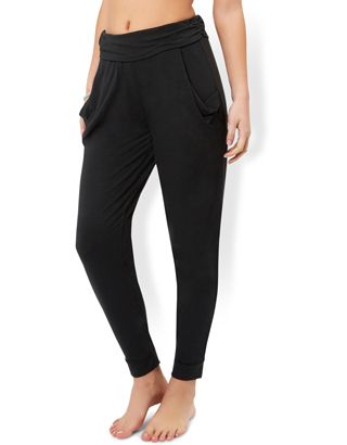 Hareem Black Trousers