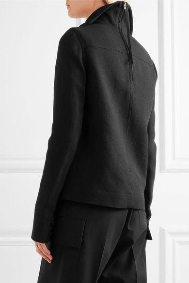 Rick Owens - Linen Jacket - Black - IT48