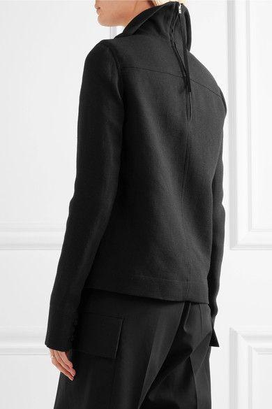Rick Owens - Linen Jacket - Black - IT48