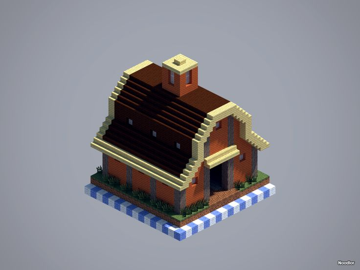 MCNoodlor: Farm - Barn