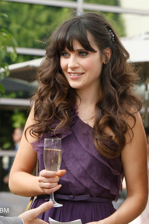 Zoey Deschanel. #love her #fashion #new girl