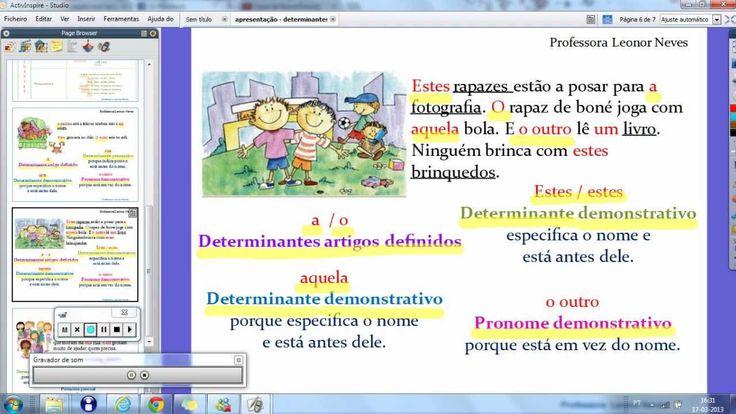 Pronomes e determinantes 2 (+lista de reprodução)