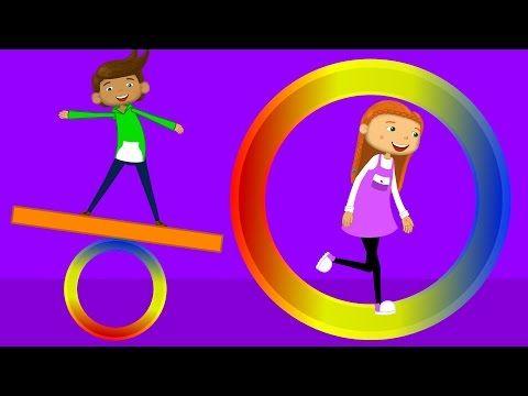 Şekilleri Öğreniyorum | Okul Öncesi Çocuk Şarkıları 2016 | Edis ile Feris - YouTube