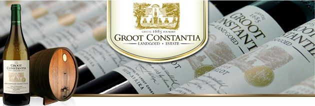 Expect only the finest wine at Groot Constantia in Cape Town, South Africa.