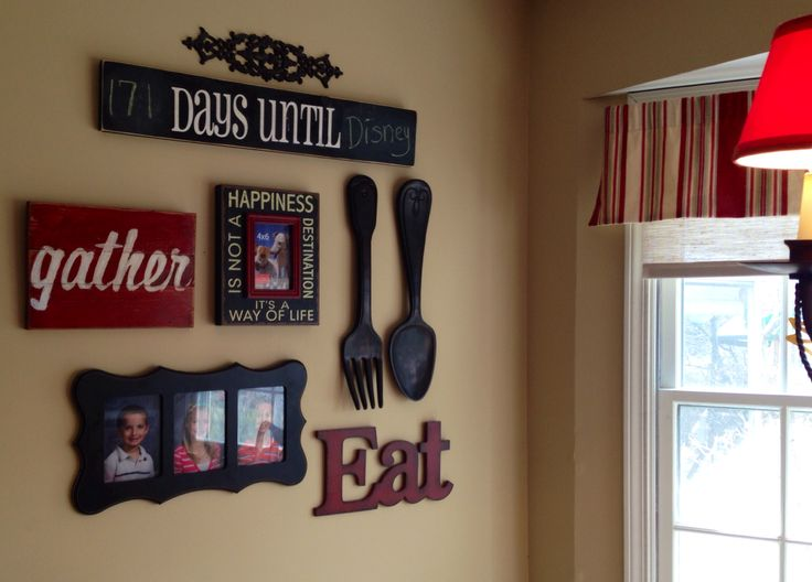My kitchen gallery wall