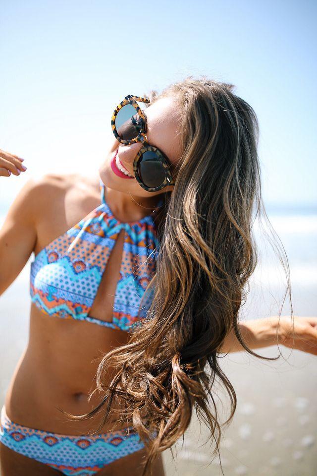 Cute bikini.