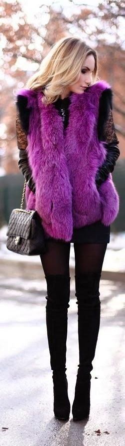 I want pretty: Color- Orquídea Radiante/ Radiant orchid outfits, beauty, deco!