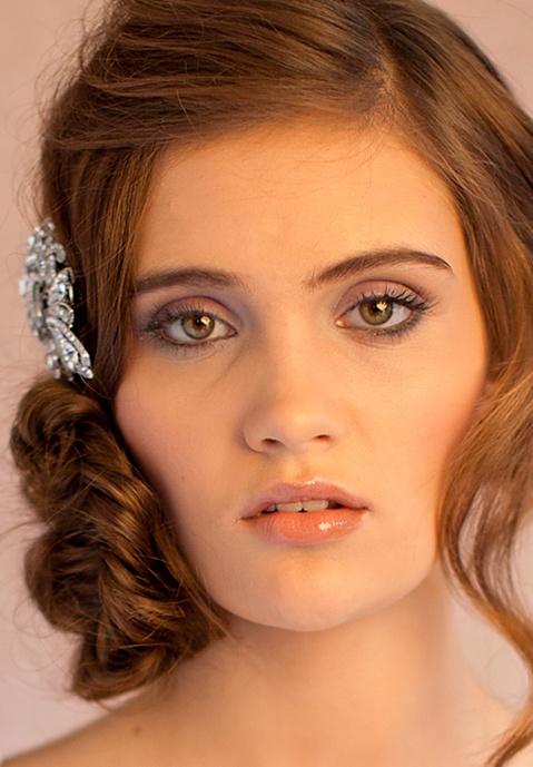 Makeup: Make Up by Leah. Hair: Frank Basile.